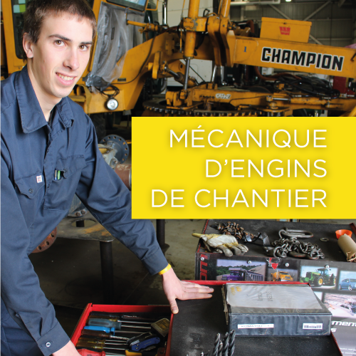 Mécanique d'engins de chantier (DEP)